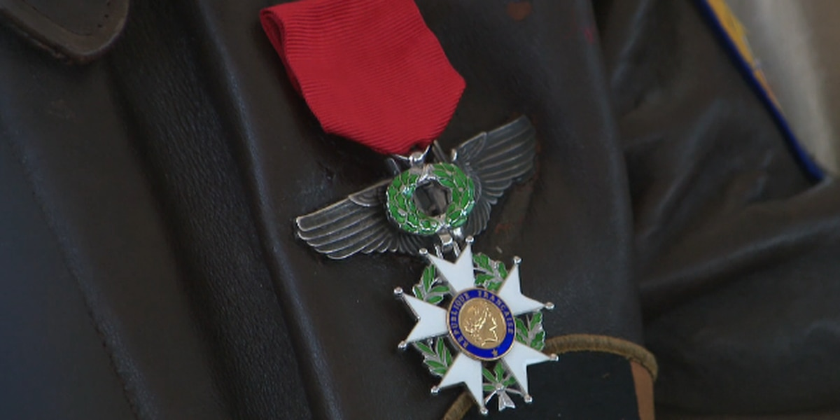 Lubbock family accepts French Legion of Honor on behalf of father who served on D-Day