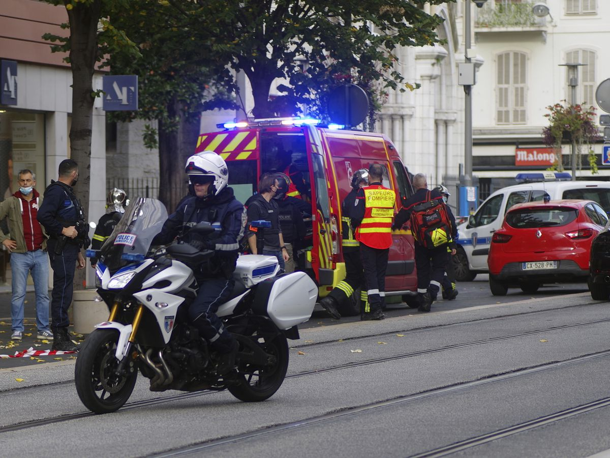 3 dead in knife attack in French church; terrorism suspected