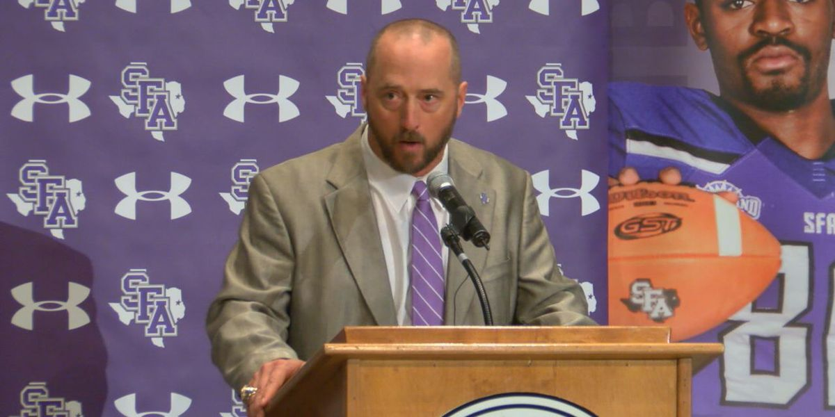 New SFA Coach Colby Carthel ready to make SFA a championship program