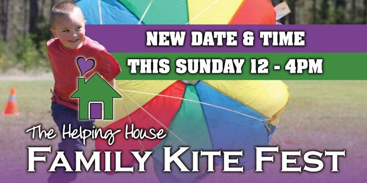 Helping House reschedules Family Kitefest at Nacogdoches airport to April 19