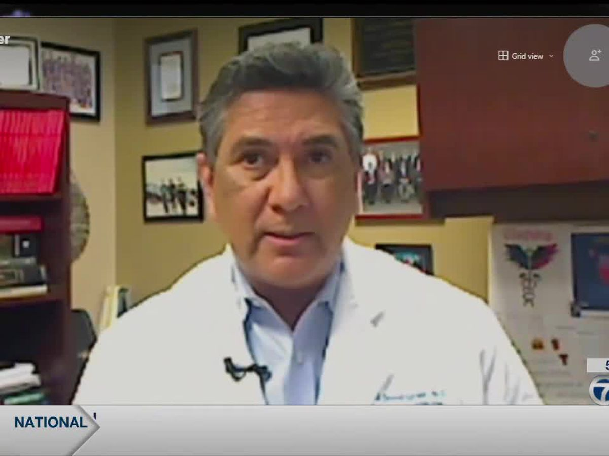 Dr. Ed Dominguez discusses governor's decision to remove mask mandate