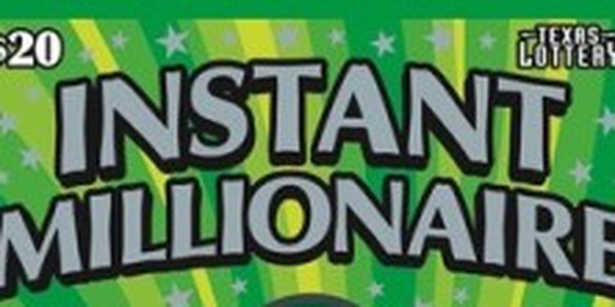 Hemphill resident wins $1 million from scratch-off ticket