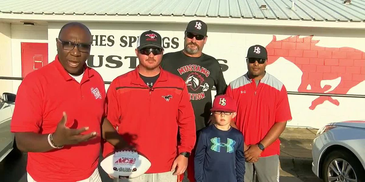Hughes Springs receives Week 6 Game Ball