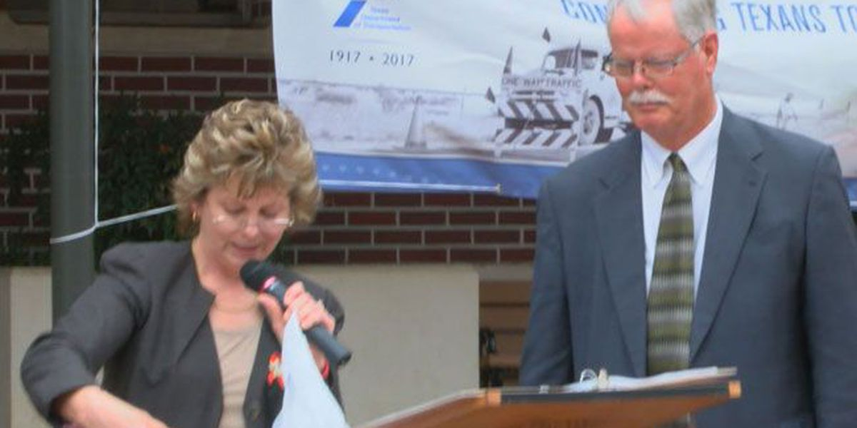 TxDOT celebrates 100 years with event on Nacogdoches square