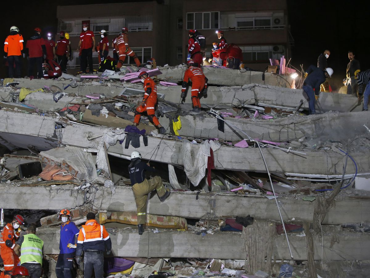 Death toll reaches 39 in quake that hit Turkey, Greek island