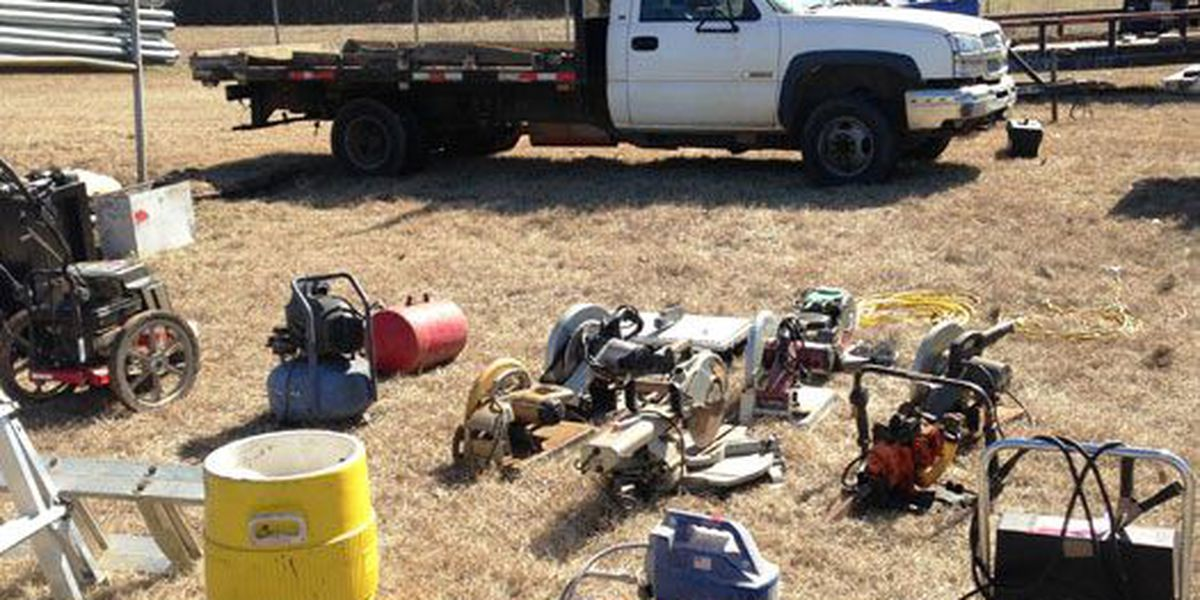 Nacogdoches PD investigation results in 2 felony theft arrests, recovery of stolen property