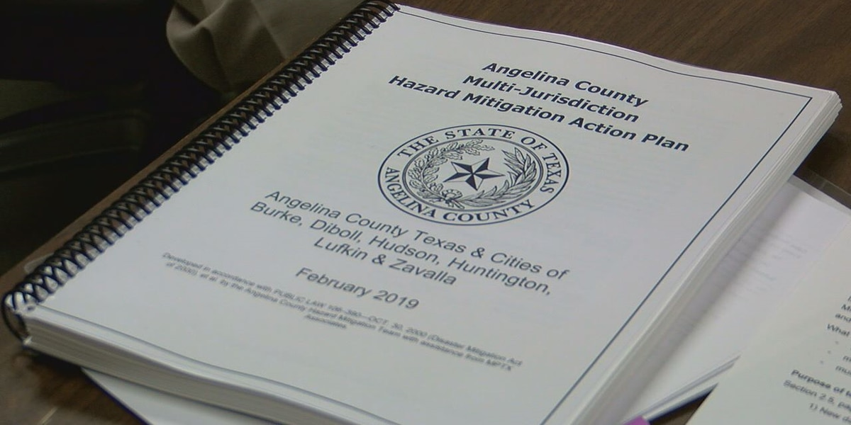Commissioner's review county hazard mitigation plan for possible grant opportunities
