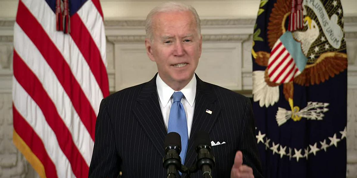 Biden: Enough COVID vaccine for all adults by end of May