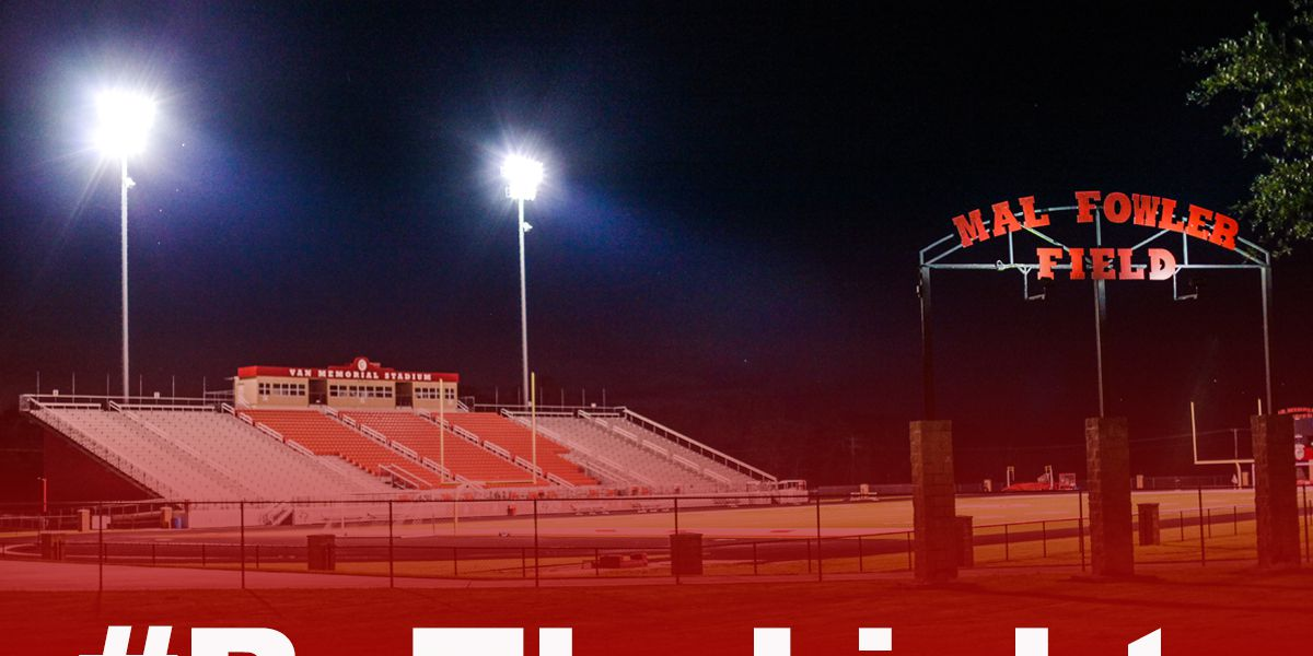 Stadium lights of hope: 'Be the Light' campaign in East Texas