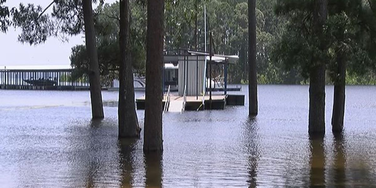Flooding plagues national state parks in San Augustine County