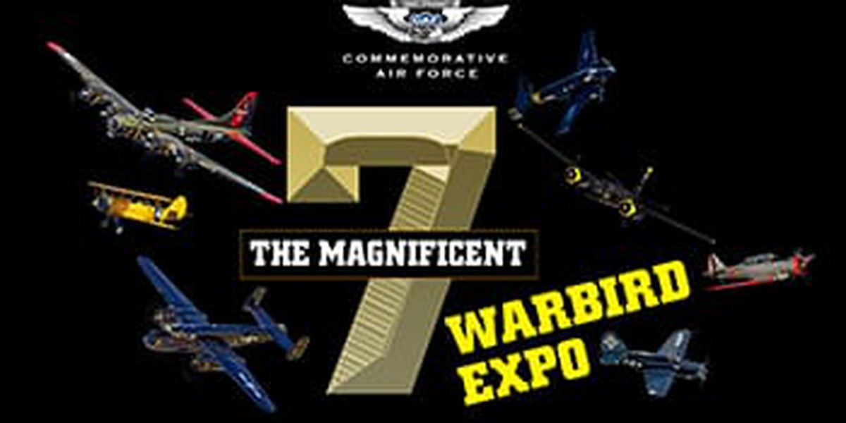 WEBXTRA: Reporters go up for a flight at World War II Warbird Expo