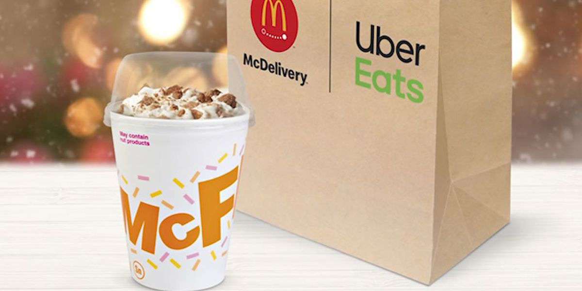 McDonald's adds snickerdoodle McFlurry to menu for the holidays