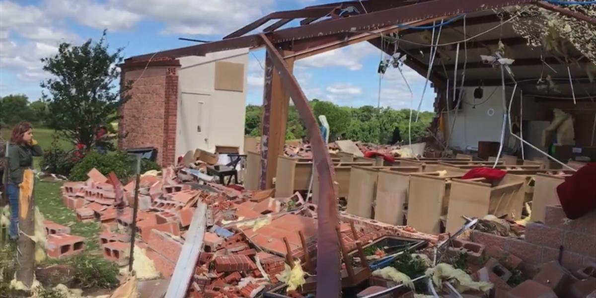Power of Prayer: Emory church rebuilds after tornado