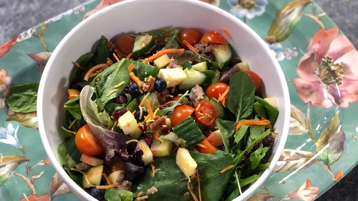Elaine's Big Salad by Mama Steph