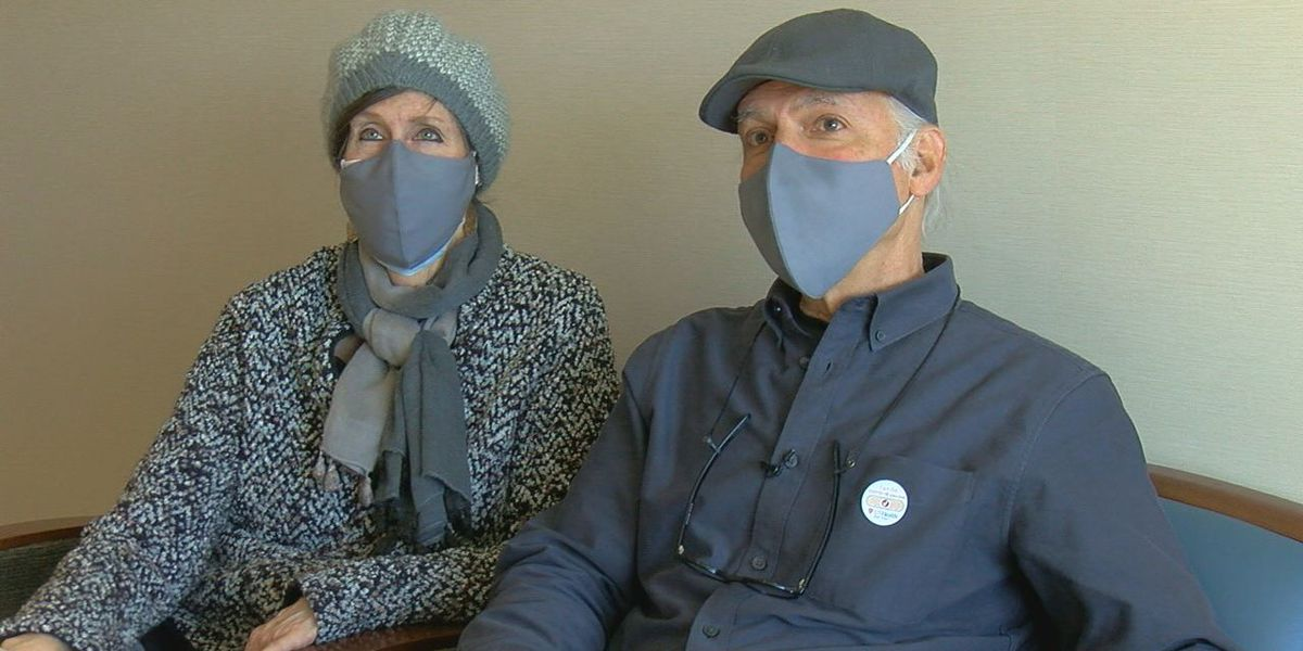 WEBXTRA: Dallas couple gets COVID-19 vaccine in East Texas; struggled to find available doses in metroplex