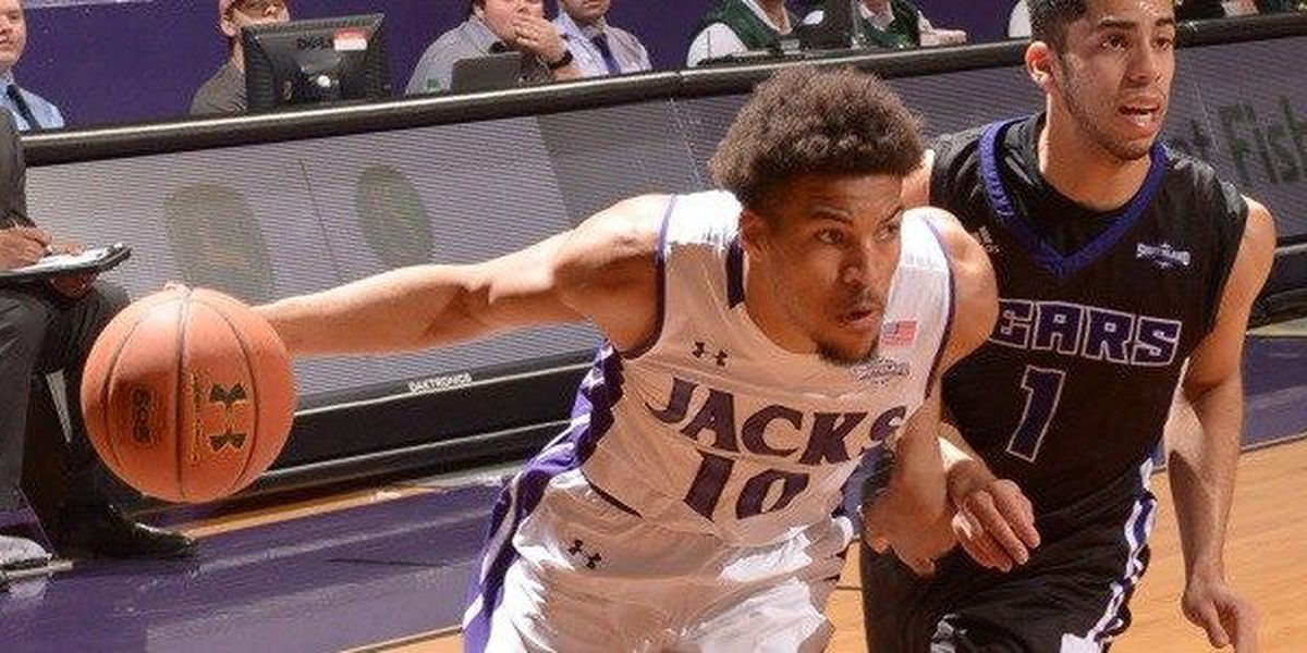 Traylor's 18, Charles' late free throws help 'Jacks hang on for 78-76 victory over Central Arkansas