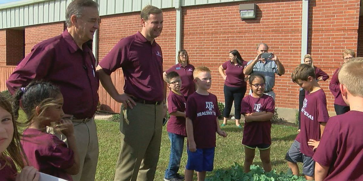 State officials help kick off Healthy Texas initiative at Bonner Elementary