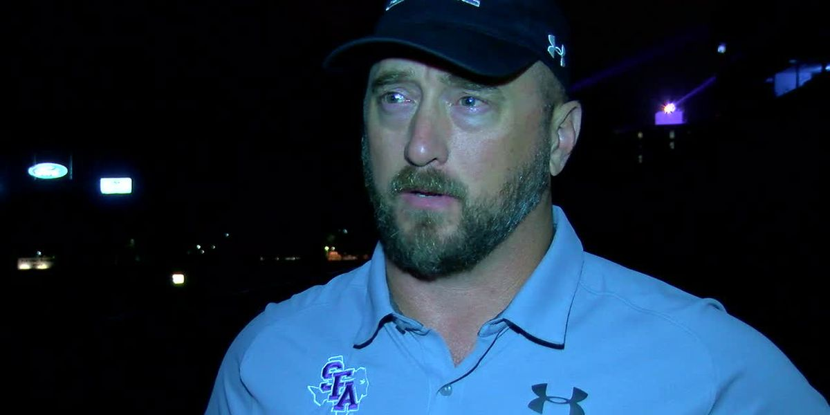 Webxtra: SFA Head Coach Colby Carthel talks about beating NSU 32-20 Thursday night