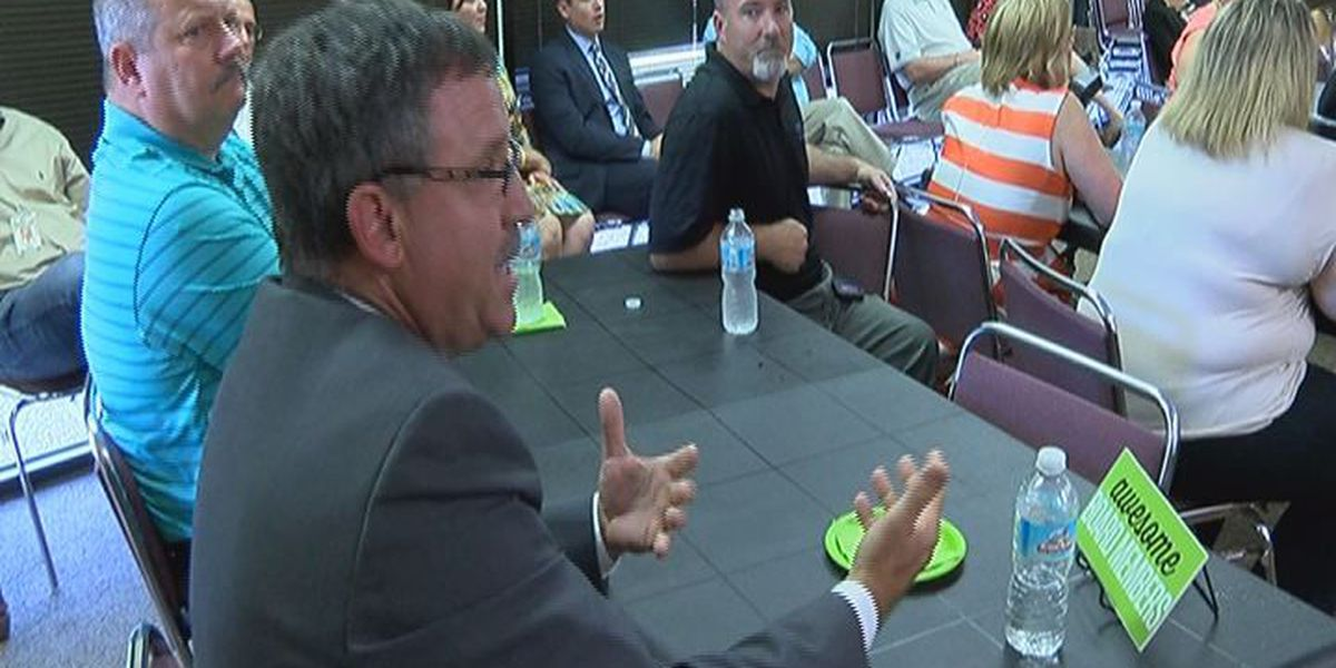 Junior Achievement meets with Angelina Co. school leaders about upcoming school year
