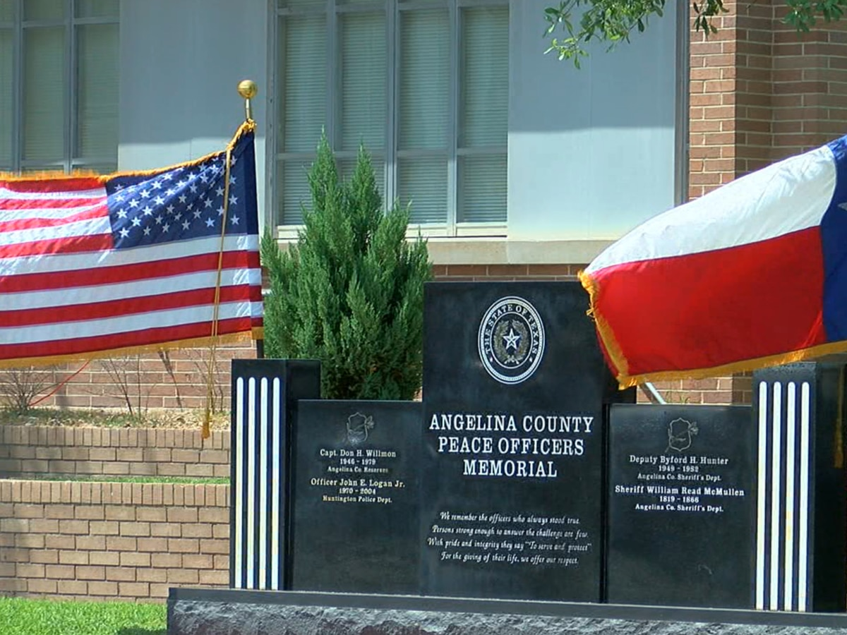 Angelina County law enforcement and community remember fallen heroes