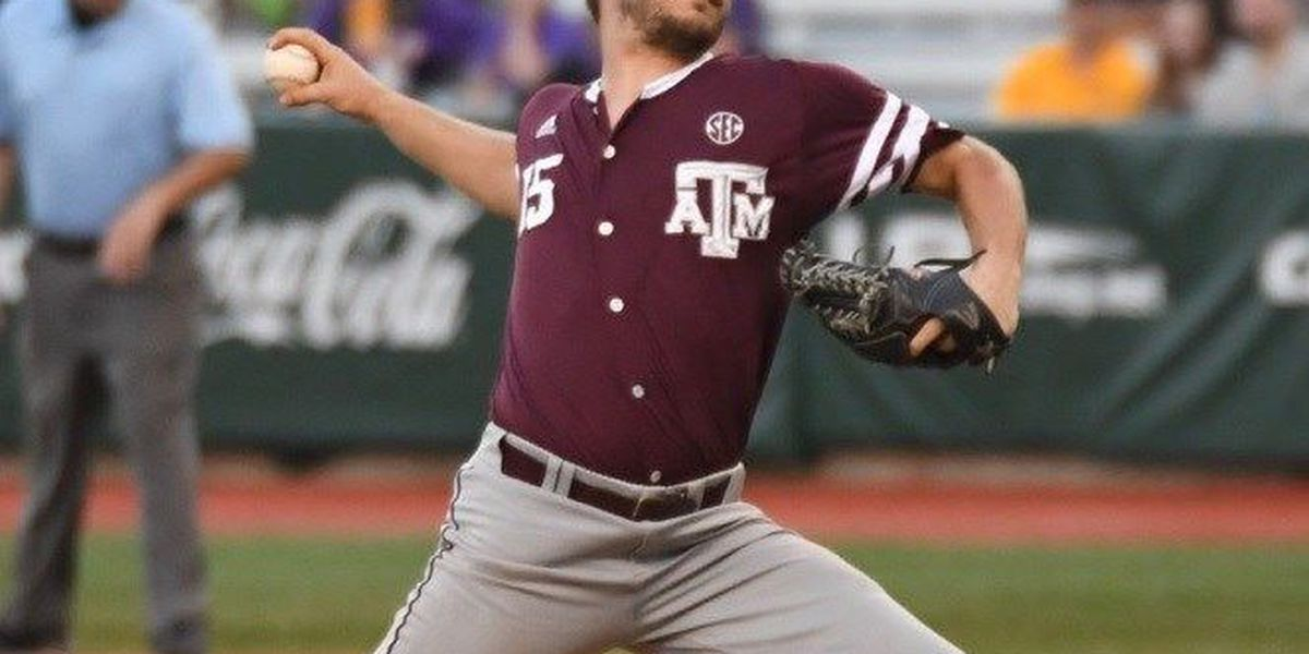Nacogdoches' Brigham Hill gets drafted by Washington Nationals