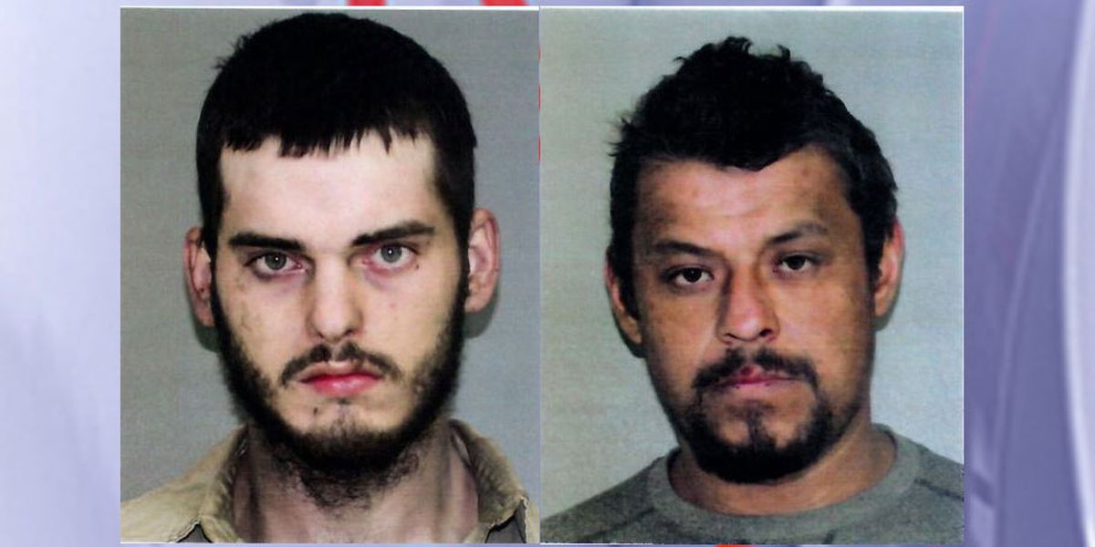 Angelina County deputies arrest 2 men who were allegedly stealing copper from paper mill