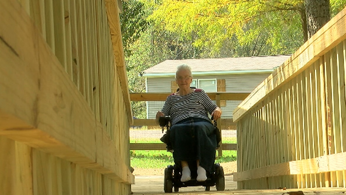 Equipment stolen from nonprofit who built house ramp for East Texas family