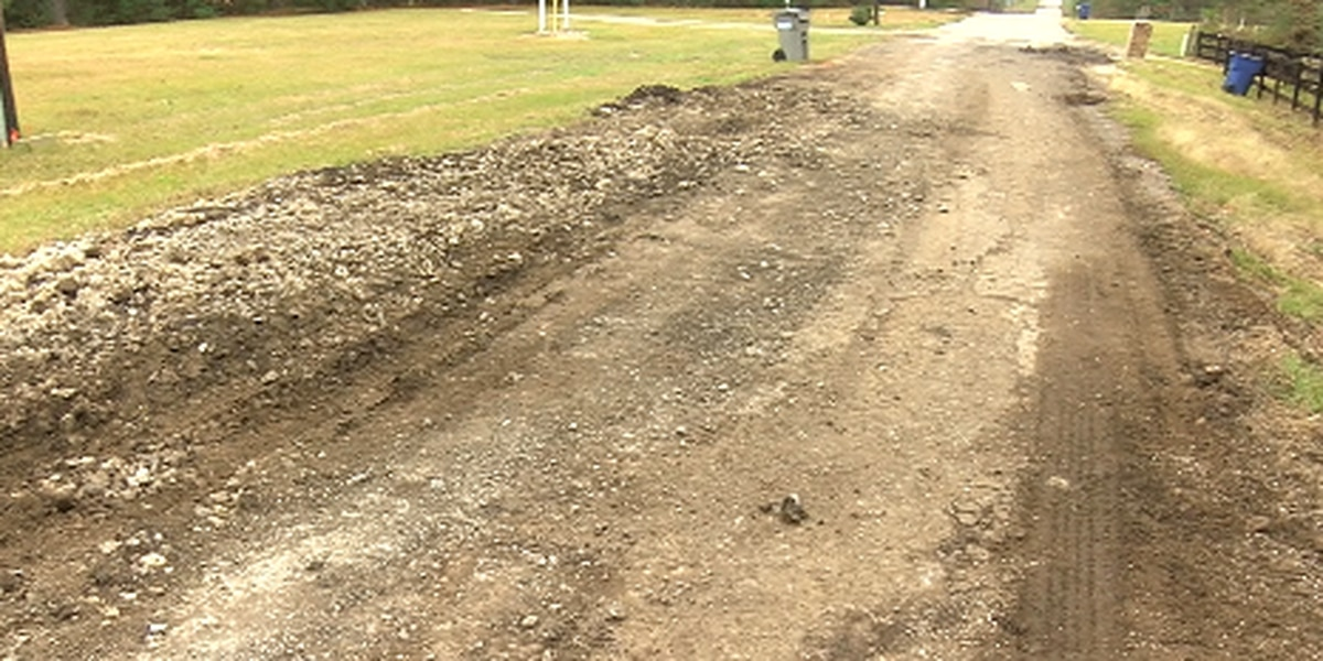 Angelina County commissioners say dry weather is needed before some road repairs can begin