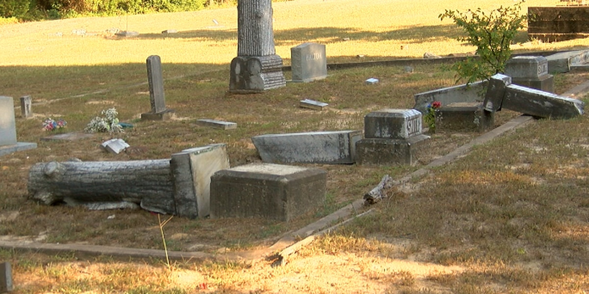 Historic cemetery vandalized, causing more than $120,000 in damages