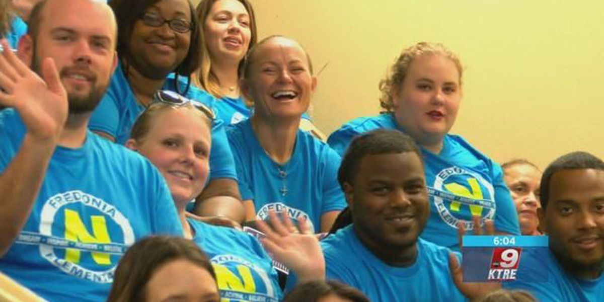 'Return of the Nac:' Nacogdoches ISD hosts upbeat convocation for faculty, staff