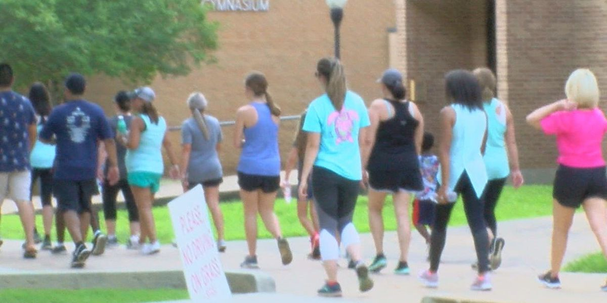 Family and friends participate in wellness walk honoring Garrison student who died of genetic heart condition