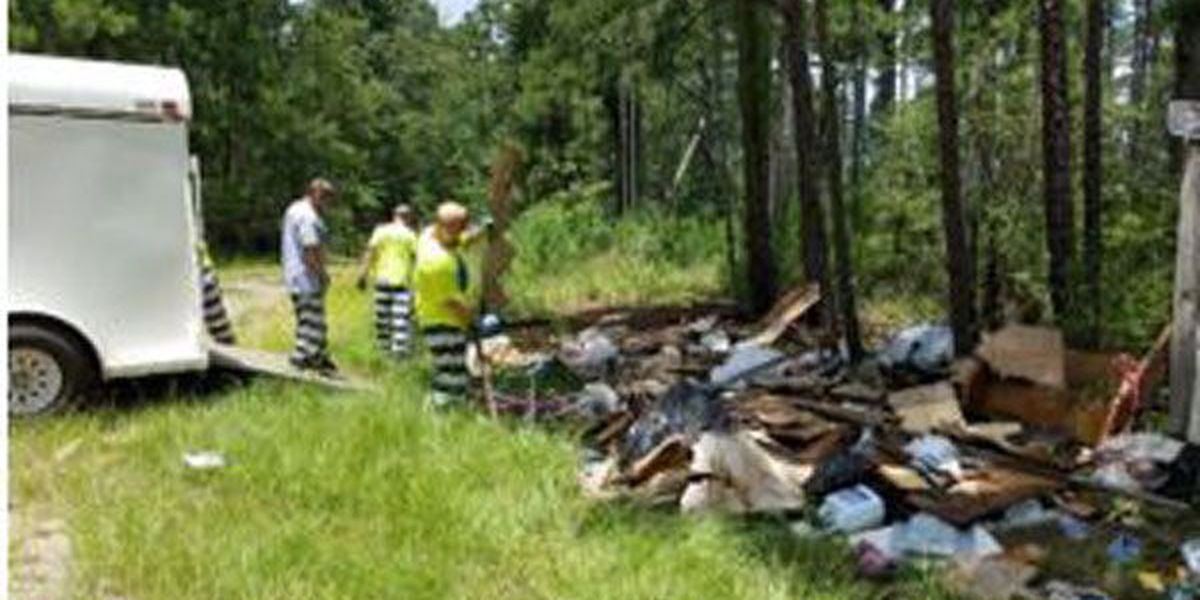 Angelina County Sheriff's Office still looking for 2nd suspect in illegal dumping case