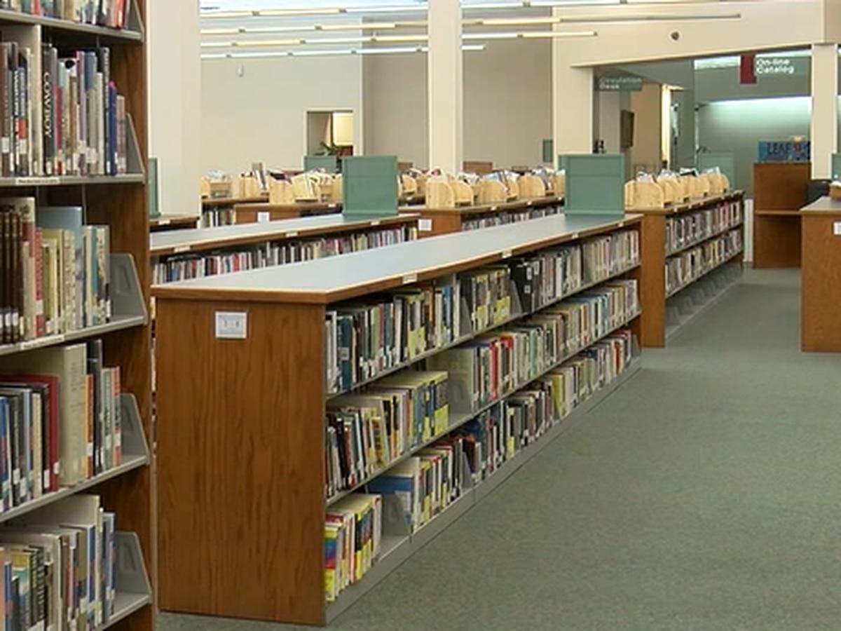 Lufkin's Kurth Memorial Library closed following winter storm damage