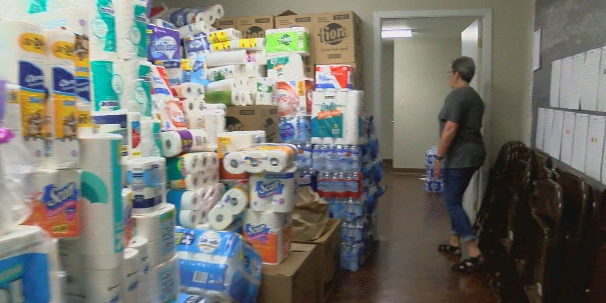 Donations for storm victims pour into Alto Missionary Baptist Church