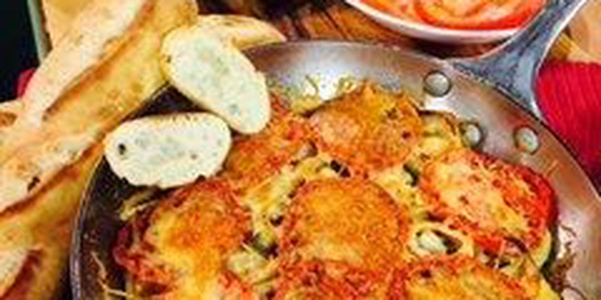 Parmesan-vegetable skillet bake by Mama Steph