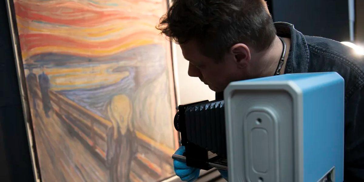Norway museum: Munch wrote 'madman' sentence on 'The Scream'