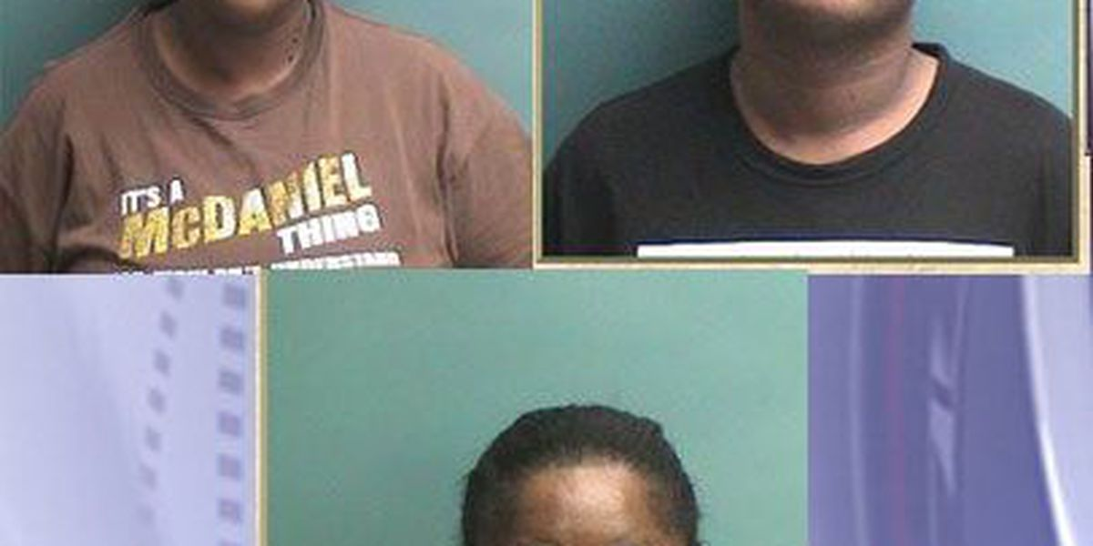 Affidavit: Nacogdoches County traffic stop results in 3 felony drug arrests