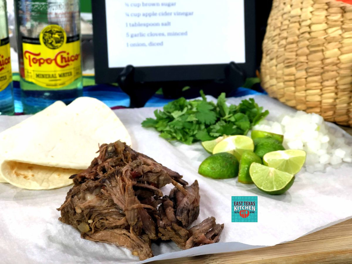 Slow-cooker barbacoa by The Texas Beef Council