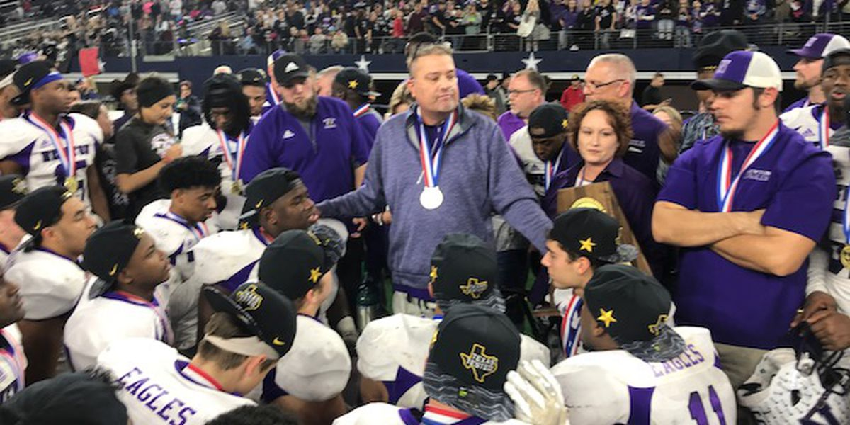 VIDEO: Newton coach, given months to live, grateful to see team win state championship
