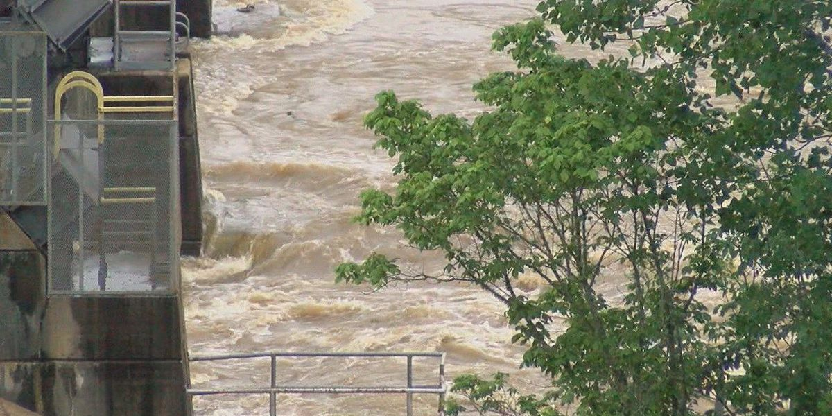 Tyler Co. officials open flood gates to control dam, more rain to come