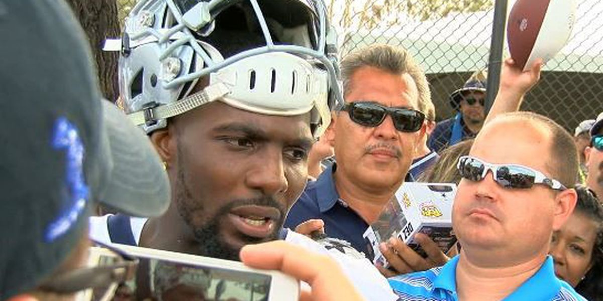 Lufkin native Dez Bryant works out with Super Bowl MVP Patrick Mahomes