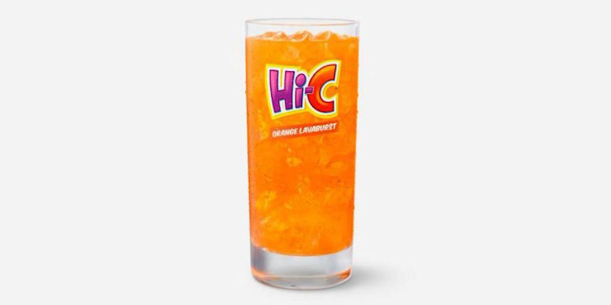 McDonald's brings back Hi-C orange drink