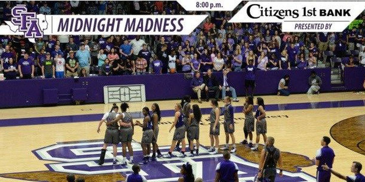 Midnight Madness Set for October 14 in William R. Johnson Coliseum