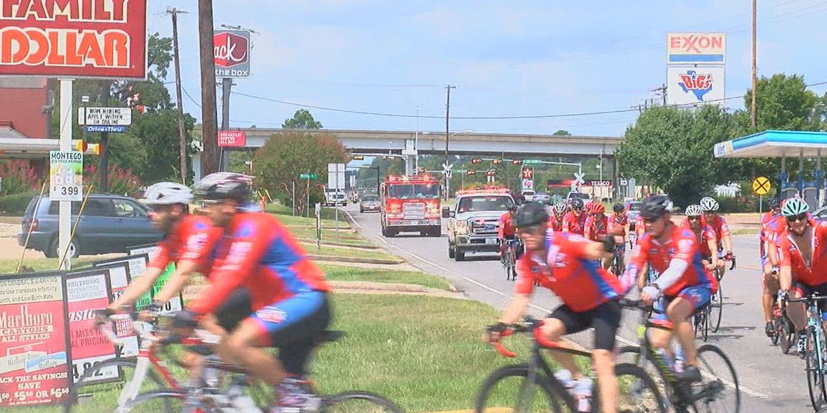 Texas Brotherhood Ride makes a stop in Lufkin to honor first responders killed in line of duty
