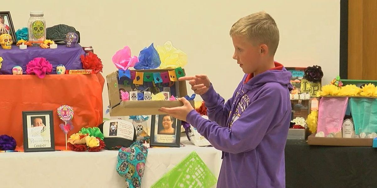 WEBXTRA: Lufkin Middle School students learn about The Day of the Dead