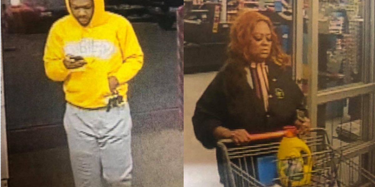 Crockett police searching for suspects in 2 theft investigations
