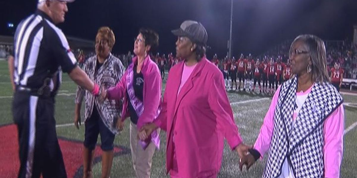 San Augustine teachers honored at Friday game