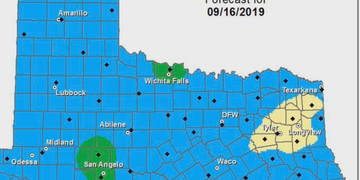 WEBXTRA: Several East Texas counties at 'high risk' for wildfires