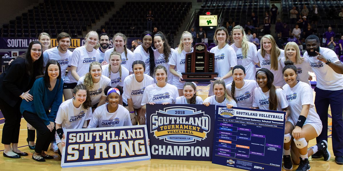 SFA Volleyball going to NCAA Tournament