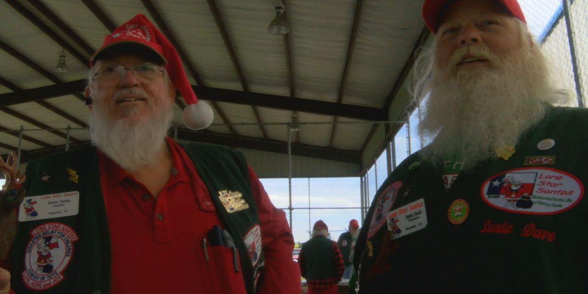 Lone Star Santas Convoy of Toys visits Alto